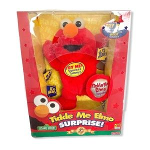 2000 Fisher Price Tickle Me Elmo Surprise 5th Anv